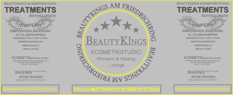 Beautykings Kosmetikstudio - Wimpernstudio Freiburg - Kennenlern-Angebot Wimpernverlängerung / Wimpernverdichtung 99,- €uro